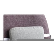 "Master Caster Company Lumbar Support Cushion, 12-1/2""x2-1/2""x7-1/2"", Neutral Gray"