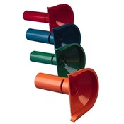 MMF Industries Four Coin Tube Set, Red/Orange/Blue/Green