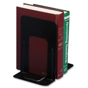 Officemate International Corp Nonskid Steel Bookends, 5-7/8'x8-1/4'x9', Black Wholesale Bulk