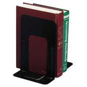 Officemate International Corp Standard Bookends, 5-7/8'x8-1/4'x9', Black Wholesale Bulk