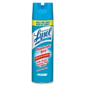 Reckitt & Benckiser Disinfectant Spray, Lysol, Fresh Scent, 19 oz.