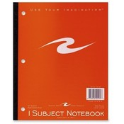 Roaring Spring Paper Products Wireless Notebook,3-HP,50 Sheet,10-1/2'x8-1/2',1 Subject Wholesale Bulk