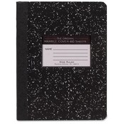 Roaring Spring Paper Products Composition Book,Wide Rule,7-1/2'x9-3/4',60SH,Black Marble Wholesale Bulk
