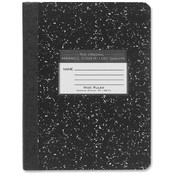 Roaring Spring Paper Products Composition Book,Wide Rule,9-3/4'x7-1/2',100SH,Black Marble Wholesale Bulk