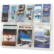 Safco Products Company Display Rack, 6 Pamphlet/3