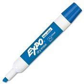 Sanford Ink Corporation Dry-erase Markers,Chisel Point,Nontoxic,Blue