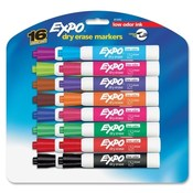 Sanford Ink Corporation Dry-erase Markers,Chisel Point,Nontoxic,16/PK,Assorted