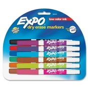 Sanford Ink Corporation Dry-erase Markers, Fine Point, Nontoxic, 12/ST, Assorted