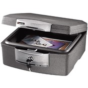 "Sentry Safe Advanced Security Chest, 15-1/4""x14-7/8""x7-1/2"", Graphite"