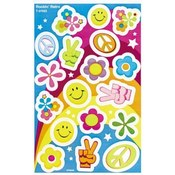 Trend Enterprises  Foil Bright Stickers, Acid-free, Nontoxic, 34-46/PK
