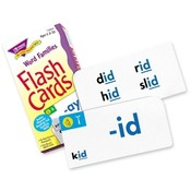 Trend Enterprises  Flash Cards, Word Family Skill Drill, 96 Cards