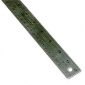 Westcott Stainless Steel Ruler w/Cork Back and Hanging Hole Wholesale Bulk