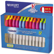Westcott Kids' Scissors w/Microban 5' Length Blunt Tip Wholesale Bulk