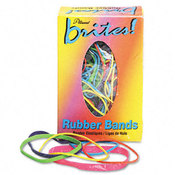 Brites Pic Pac Rubber Bands Blue/Orange/Yellow