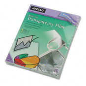 Apollo Write-On Transparency Film Letter Clear 100/Box Wholesale Bulk