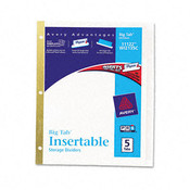 Worksaver Big Tab Dividers