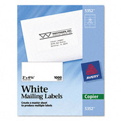 Self-Adhesive Shipping Labels for Copiers