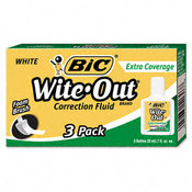 Wite-Out Extra Coverage Correction Fluid 20ml