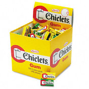Chiclets Chewing Gum Peppermint or Spearmint