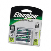 e² NiMH Rechargeable Batteries AAA 4 Batteries