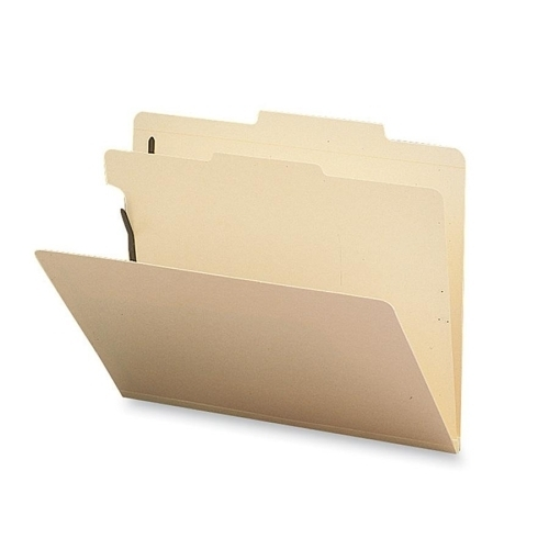 ''Sparco Products Classification Folder, 1 Divider, Letter, 10/BX, Manila (975106)''