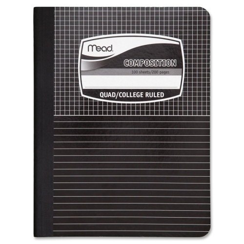 ''Mead Composition Book,Special Ruled,100 Shts,9-3/4''''x7-1/2'''',BE/ME (941021)''