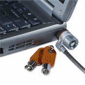 Laptop Computer Microsaver Security Cable w/Lock