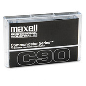 Maxell Standard Dictation Audio Cassette Normal Bias 90 Wholesale Bulk
