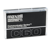 Maxell Standard Dictation/Audio Cassette Normal Bias 60 Wholesale Bulk
