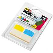 Write-On Self-Stick Index Tabs/Flags 1 1/16in Fo