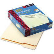 Smead File Folders 1/3 Cut Assorted 1-Ply Top Tab Wholesale Bulk