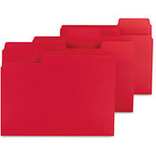 Smead SuperTab Colored File Folders 1/3 Cut Letter Wholesale Bulk