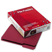 Smead File Folders 1/3 Cut Top Tab Letter Maroon 10 Wholesale Bulk