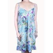 Womens Knee Length Print Dress