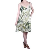 Womens Knee Length Printed Summer Dress