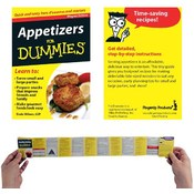 Refrigerator Magnet Book- Appetizers For Dummies
