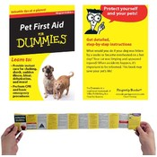 Refrigerator Magnet Book-Pet First Aid For Dummies