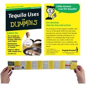 Refrigerator Magnet Book- Tequila Uses For Dummies
