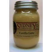Vanilla Latte 16 oz. Pure Soy Candle