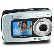 Isonic Dual Display Waterproof Digital Camera - Wp10