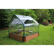 Frame It All PVC Greenhouse 4'x4'x34.5 Wholesale Bulk