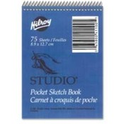 "Studio Sketch Book, 30 Sheets, 9""x12"", White. 10 EA/PK."