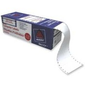 "Data Processing Labels, 3-1/2""x15/16"", 5000/BX, White. 5000 EA/BX."
