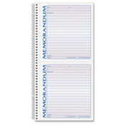 "Memorandum Book, 2-Part, Perforated, 11""x5-1/2"", 100 Sets. 100 ST/EA."