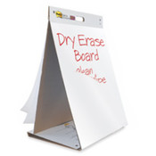 "Dry Erase Ease Pad/Table Top, 20""x23"",20 Sheets, Assorted. 1 EA/PK."