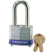 "Long Shackle Padlock, w/ 1-1/2"" Shackle, Rust-Proof. 6 EA/BX."