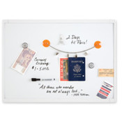 "Dry-Erase Board, Mini Magnetic, 17""x23"", White. 4 EA/CT."