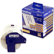 "P-touch QL Shipping Labels,Dura-Coat Paper,4""x2-3/7"",White. ."