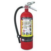"Rechargeable Fire Extinguisher,5lb,7-1/2""x4-1/2""x16-3/4"",RD. ."