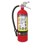 "Rechargeable Fire Extinguisher,2-1/2lb,5-1/2""x3-1/4""x15"",RD. ."